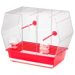 Inter-Zoo клетка для птиц GABI ZINC, размер 53х28х43 см