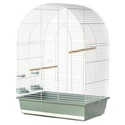 Inter-Zoo клетка для птиц LUSI III WHITE, размер 54х34х75 см