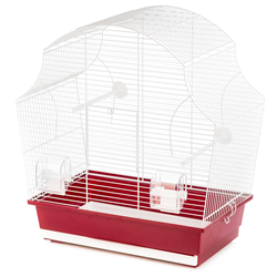 Inter-Zoo клетка для птиц MARGOT II WHITE, размер 50.5х28х54 см