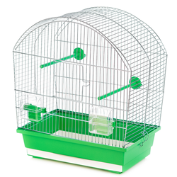 Inter-Zoo клетка для птиц MEGI ZINC, размер 43x25x47 см