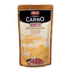 GranCarno с мясом кенгуру, консервы для собак Gran Carno Exotic, 125 гр. х 16 шт.