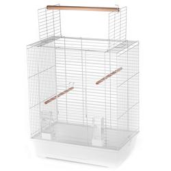 Inter-Zoo клетка для птиц ARA WHITE, размер 54х34х65.5/68.5 см