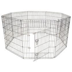 Papillon вольер для собак 8 панелей, с дверцей, 80х100 см