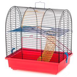 Inter-Zoo клетка для грызунов GRIM 2 COLOUR, размер 36х24х38 см