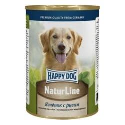 Happy Dog Ягненок с рисом консервы для взрослых собак, 400 гр.