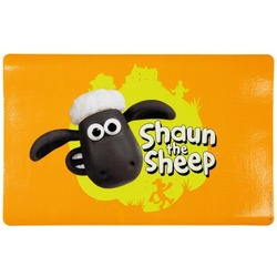 "Trixie Коврик под миску ""Shaun the Sheep"", 44 х 28 см, оранжевый"