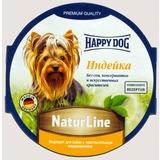Happy Dog Индейка консервы для взрослых собак, 85 гр х 11 шт