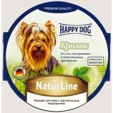 Happy Dog Кролик консервы для взрослых собак 85гр х 11 шт