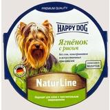 Happy Dog Ягненок с рисом консервы для взрослых собак, 85 гр х 11 шт