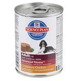 Hill`s низкокалорийные консервы для взрослых собак с курицей, Science Plan Adult Savoury Chicken, 370 гр.