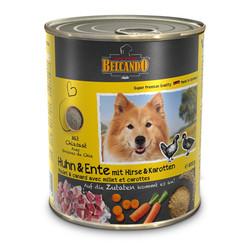 Belcando Консервированный корм Белькандо, Курица и утка с пшеном и морковью