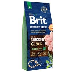Brit Premium by Nature Junior XL полнорационный корм для щенков и молодых собак гигантских пород (45–90 кг)