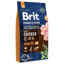 Brit Premium by Nature Senior S+M корм для пожилых собак мелких и средних пород