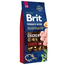 Brit Premium by Nature Senior L+XL корм для пожилых собак крупных и гигантских пород