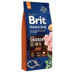 Brit Premium by Nature Sport полнорационный корм для собак всех пород с высокими затратами энергии