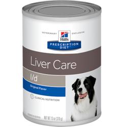 Hill`s L/D диетический консервированный корм для для лечения заболеваний печени, Prescription Diet™ l/d™ Canine, 370 гр.