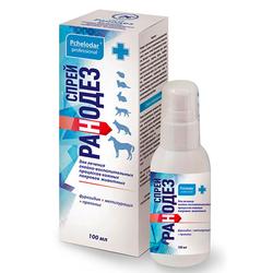 Пчелодар Ранодез спрей для профилактики и лечения гнойно-воспалительных процессов кожи и мягких тканей