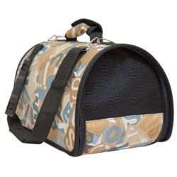 Зооник сумка-переноска Азбука полукруглая, жесткая