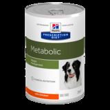 Hill`s Metabolic Canine диетический корм для коррекции веса, 370 гр.
