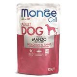 Monge Dog Grill Pouch для собак говядина 100 г