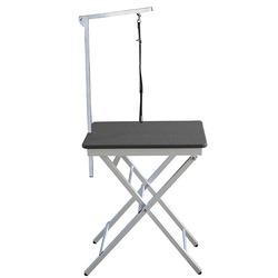 Groom-X Ringside Table грумерский стол 60x45x73-82см, цвет черный