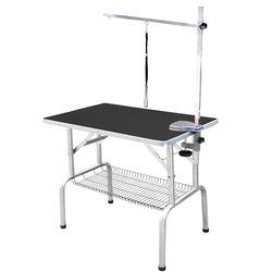 Transgroom SS Grooming Table стол для груминга, 81x52x78h см, цвет черный
