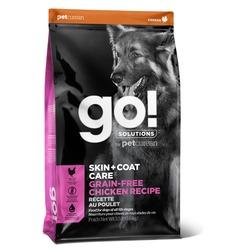 GO! Natural holistic беззерновой сухой корм для собак всех возрастов с цельной курицей, GO! SKIN + COAT