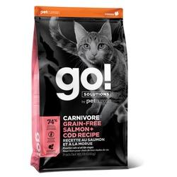 GO! Natural holistic беззерновой сухой корм для котят и кошек, с лососем и треской, GO! CARNIVORE GF Salmon + Cod