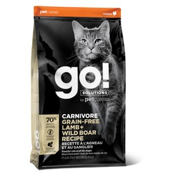 GO! Natural holistic беззерновой корм для котят и кошек, с ягненком и мясом дикого кабана, GO! CARNIVORE GF Lamb + Wild Boar