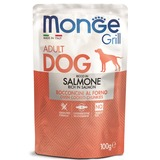 Monge Dog Grill Pouch для собак с лососем 100 г