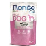Monge Dog Grill Pouch для собак со свининой 100 г