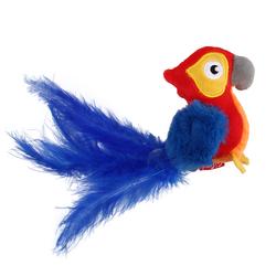 Gigwi игрушка для кошек Попугай со звуковым чипом 12 см арт.75459