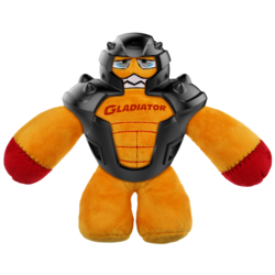 Gigwi игрушка для собак GLADIATOR в резиновом шлеме 20 см арт.75448