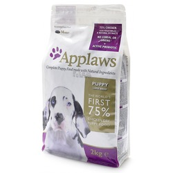 Applaws беззерновой корм для щенков крупных пород курица/овощи