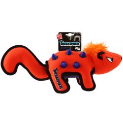 Gigwi Duraspikes игрушка для собак СКУНС С РЕЗИНОВЫМЫ ВСТАВКАМИ 38 X 12 X 15 см арт.75407