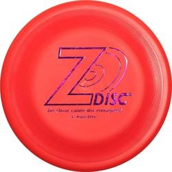 Z-Disc фризби-диск Z-Диск улучшенный соревновательный стандарт, большой диск антиблик, цвет красный