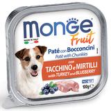 Monge Dog Fruit консервы для собак индейка с черникой 100 г
