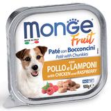 Monge Dog Fruit консервы для собак курица с малиной 100 г