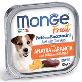Monge Dog Fruit консервы для собак утка с апельсином 100 г