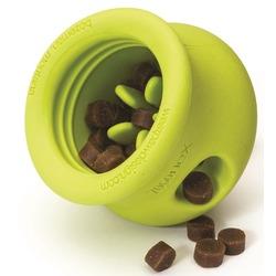 Zogoflex игрушка под лакомства для собак Toppl, L 10 см, зеленая