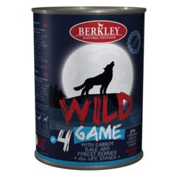 Berkley Wild Беркли Вайлд Дичь с морковью, капустой и лесными ягодами для собак всех возрастов №4