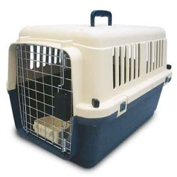 Triol пластиковая переноска для кошек и собак, размер 60,7х40х40,5 см