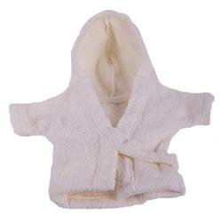 Pretty Pet халат банный махровый для собак, цвет молочный