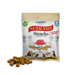 Serrano snacks. Лакомство для собак «Говядина», 100 гр.