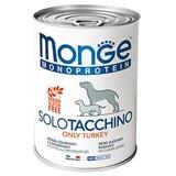 Monge Dog Monoproteino Solo паштет из индейки 400 г