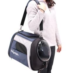 Ibiyaya складная сумка-рюкзак для кошек и собак до 8 кг Explorer Airline Transparent Pet Carrier Plus