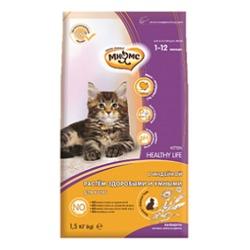 Мнямс Kitten Сухой корм для котят с индейкой