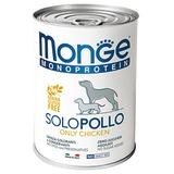 Monge Dog Monoproteino Solo паштет из курицы 400 г