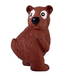 """PetStages OH игрушка для собак Tootiez """"Медведь"""" латекс с пищалкой, 22 см"""