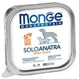 Monge Dog Monoproteino Solo паштет из утки 150 г